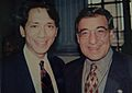 Leon Panetta (former White House Chief of Staff to President Clinton, & former CIA Director) and Franklin Urteaga (former White House Aide).jpg