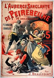L'AUBERGE ROUGE extrait dans CINEMA FRANCAIS 220px-Les_crimes_de_Peyrebeille_-_Lithographie_de_1885_%28Fonds_Biblioth%C3%A8que_Municipale_de_Lyon%29