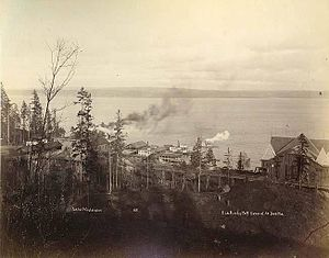 Leschi, Seattle - Leschi Park, 1891
