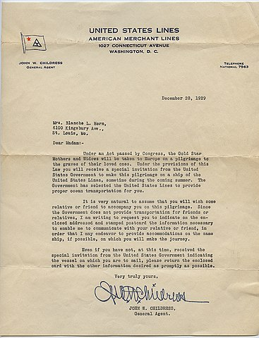 File:Letter about Ocean Transportation from United States