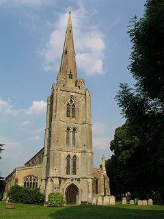Leverington village in the United Kingdom