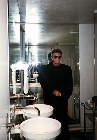Lewis Baltz - Lewis Baltz in Jean Nouvel's Amat hotel.