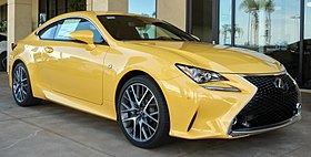 Image illustrative de l'article Lexus RC