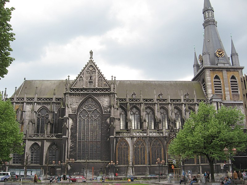 best things to visit in Liege- St Paul Cathedral