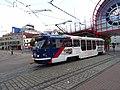 Liberec, Fügnerova, tramvaj od Vratislavic.jpg