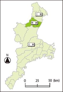 三重県のナンバープレート