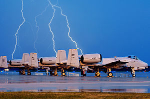 358th Fighter Squadron - A-10 Thunderbolt IIs at Whiteman AFB