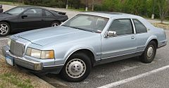 Continental Mark VII z lat 1984-1991