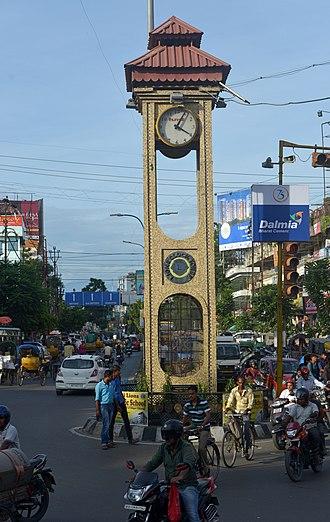 Siliguri - Image: Lions Clock Tower Siliguri