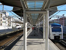 Lisbon Lisboa Roma-Arreeiro station REFER.jpg