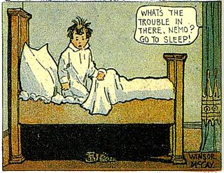 <i>Little Nemo</i> US early 20th century comic strip