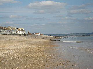 Littlestone-on-Sea village in Kent, England