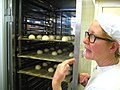 Liz with the proving cabinet (5959524034).jpg