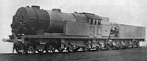 Steam turbine locomotive - Beyer-Ljungström locomotive