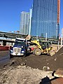 Loading and removal of excavation spoils in the future LIRR Mid-day Storage Yard. (CQ033, 4-23-2018) (27324087257).jpg