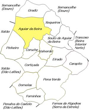 Aguiar da Beira (freguesia) - Image: Local Agb Aguiar Da Beira