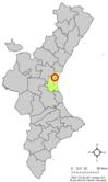 Localització d'Alfara del Patriarca respecte del País Valencià.png