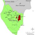 Localització de Rojals respecte el Baix Segura.png