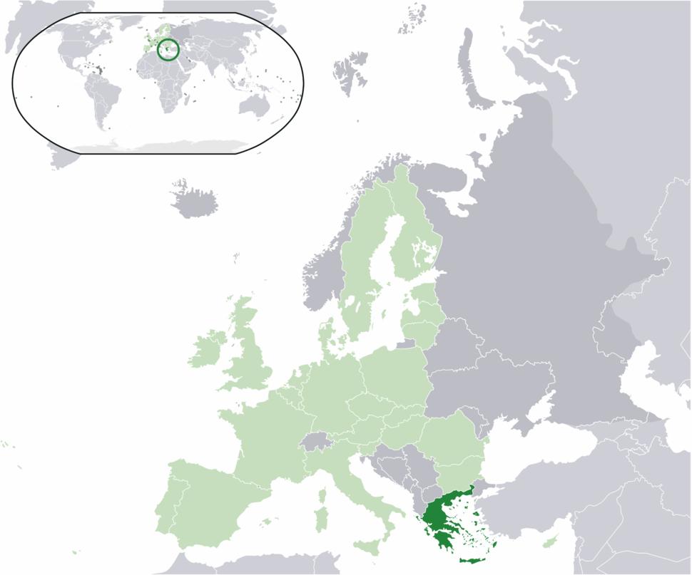Location Greece EU Europe