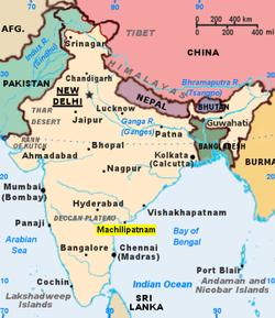 マチリーパトナム - Wikipedia