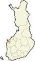 Location of Laihia in Finland.png