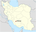 Location of Shiraz in Iran.PNG