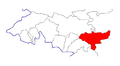 Location of Toguz-Toro District in Jalal-Abad Province, Kyrgyzstan.png