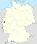 Locator map NE in Germany.svg