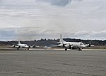 Lockheed P-3C Orions of VP-40 at NAS Whidbey Island on 3 April 2018 (180403-N-KG618-216).JPG