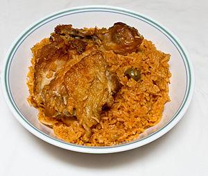 Locrio - Image: Locrio de Pollo (Dominicano)