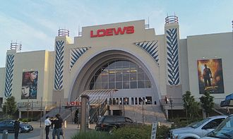 AMC Theatres - The Loews Alderwood 16 in Lynnwood, Washington had opened in March 2005 before the merger with AMC