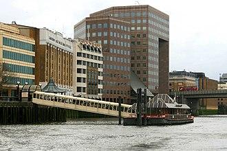 London Bridge City Pier - Image: London Bridge City Pier 2