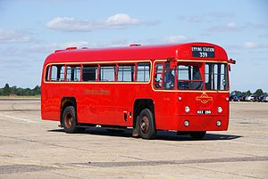 London Transport bus RF401 (MXX 289), 2010 North Weald bus rally.jpg
