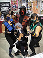 Long Beach Comic & Horror Con 2011 - Mortal Kombat family (6301703898).jpg