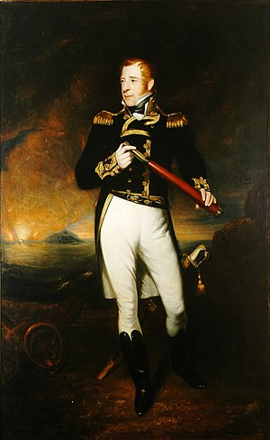 James Ramsay (painter) - Portrait of Lord Cochrane by James Ramsay, c. 1830