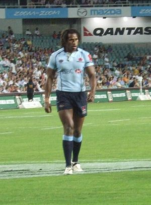 Lote Tuqiri - Tuqiri while playing for the Waratahs in 2007