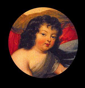 Louis César, Count of Vexin - Image: Louis Cesar de Bourbon(1672 1683)