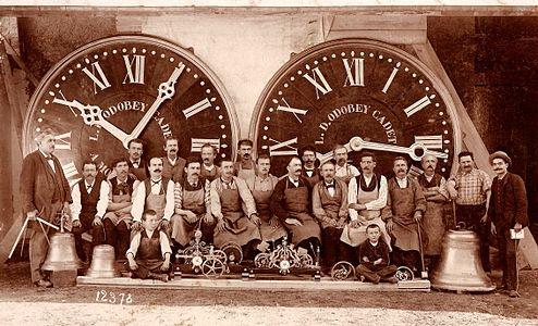 Tower Clock manufacturer 1890