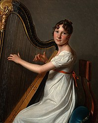 Louis-Léopold Boilly: The Young Harpist