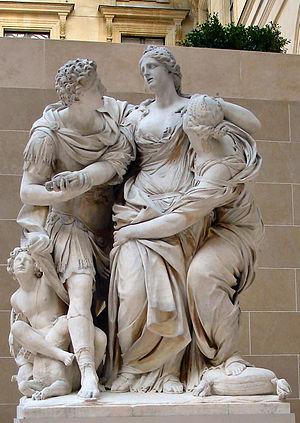 Pierre Lepautre (1659–1744) - Arria et Paetus, 1681