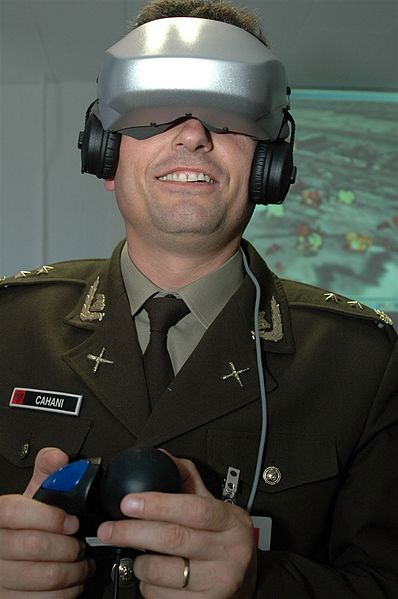 File:Lt. Col. Nazmi Cahani controls the point-of-view through a head-mounted, virtual reality display.jpg