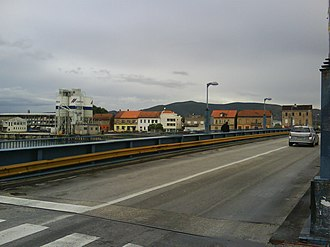 Port of Ploče - Cement storage silos in the Metković Business Unit