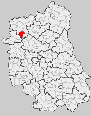 Gmina Adamów, Łuków County - Image: Lub Lukowski Adamow
