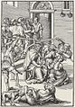 Lucas Cranach, o Velho - Série da Paixão de Cristo - Coroação de Espinhos.jpg
