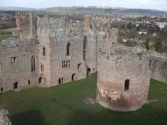 Joan de Geneville, 2nd Baroness Geneville - Ludlow Castle in Shropshire, the birthplace of Joan de Geneville
