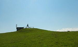 Eduard Imhof - Eduard Imhof memorial on Lueghubel in Fahrni municipality, Switzerland