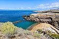 Luftbild vom Strand Playa Abama in der Nähe von Bananenplantagen auf Teneriffa, Spanien (48225347757).jpg