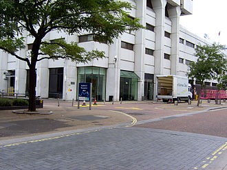 The London Studios - Building entrance