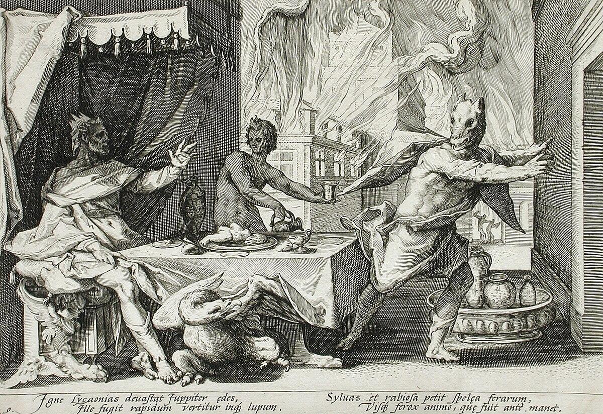 Image result for greek mythology werewolf