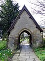 Lych gate, St Mary's Church - geograph.org.uk - 2446542.jpg